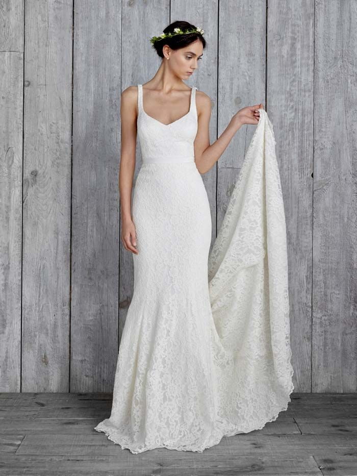 Simple Wedding Gowns for the Minimalist Bride | happily ever after ...