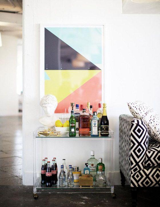 Office Space: One Kings Laneu0027s New York Digs. Bar CartsBar ...