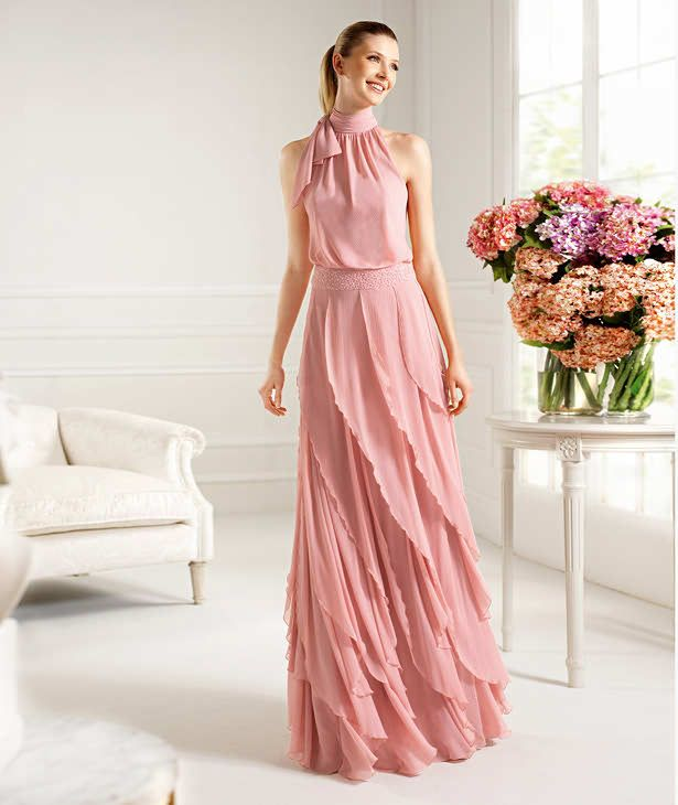 Vestido Palo de rosa | Fashion | Pinterest | Gowns and Fashion