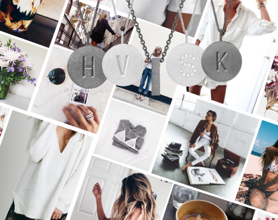 Styling by felden showing Letter Pendant H Grey Rhodium, Letter Pendant V Silver, Initial Letter Pendant I Grey Rhodium, Shiny Letter Pendant S Silver and Letter Pendant K Grey Rhodium #jewellery #Jewelry #bangles #amulet #dogtag #medallion #choker #charms #Pendant #Earring #EarringBackPeace #EarJacket #EarSticks #Necklace #Earcuff #Bracelet #Minimal #minimalistic #ContemporaryJewellery #zirkonia #Gemstone #JewelleryStone #JewelleryDesign #CreativeJewellery #OxidizedJewellery #gold #silver…