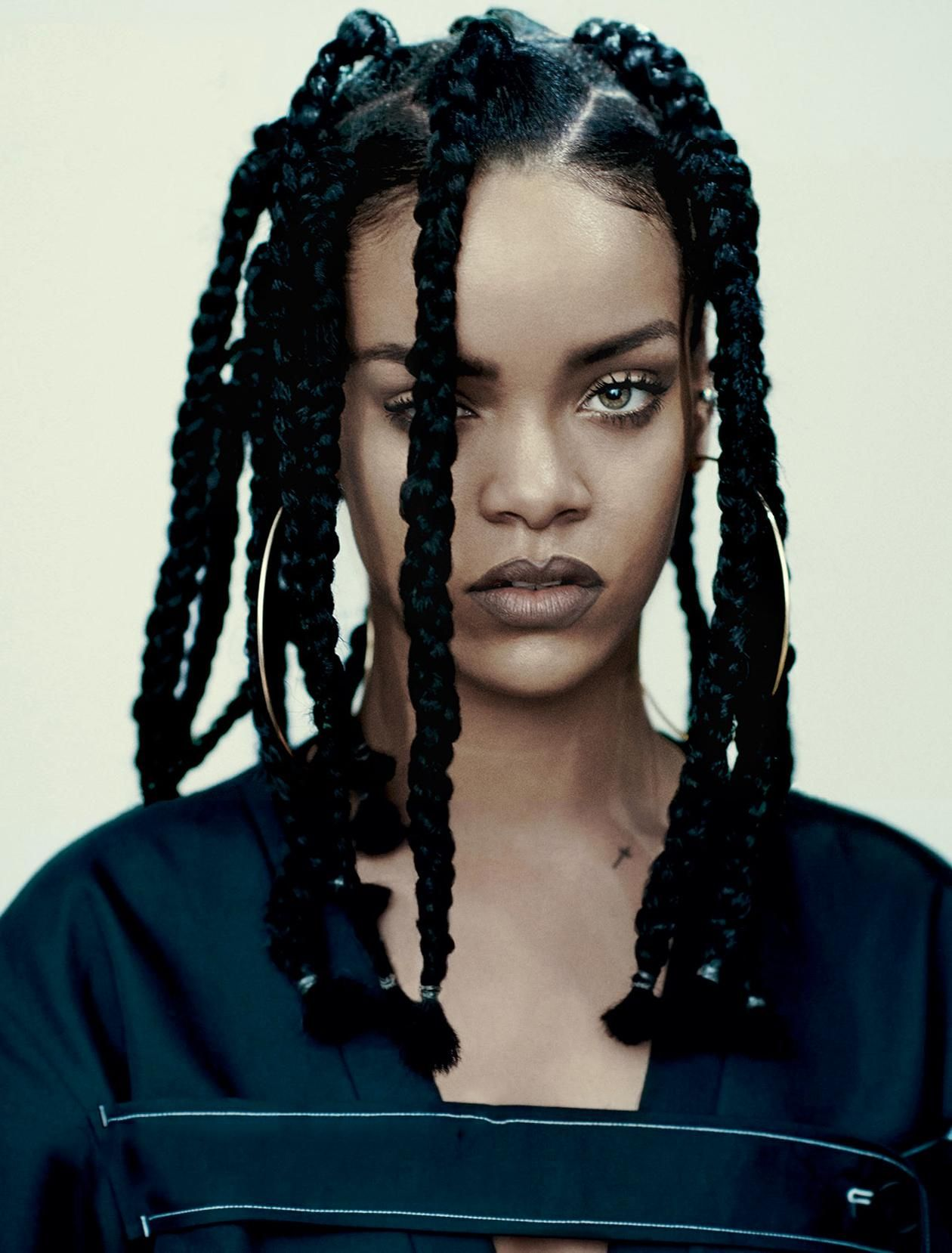 Rihanna jumbo box braids