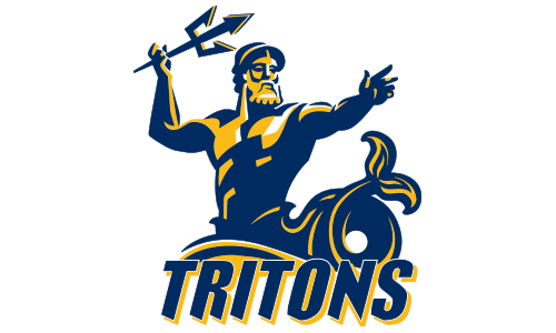 Triton Athletics Logo Book Page Art