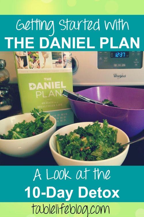 daniel 10 day diet