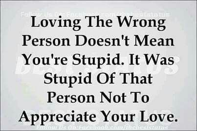 Loving the wrong person