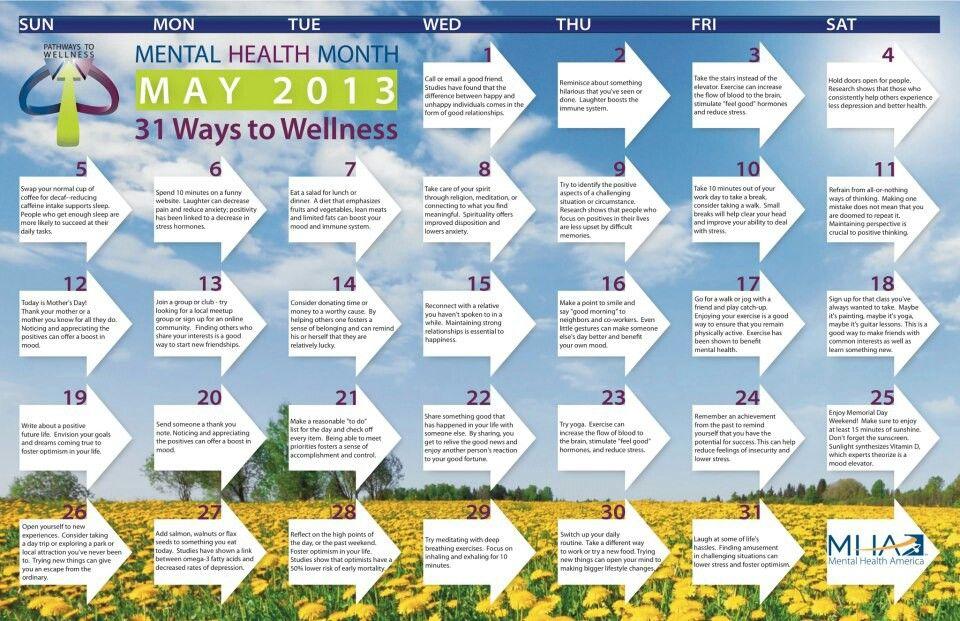 Mental   Mental health awareness month, Mental health ...