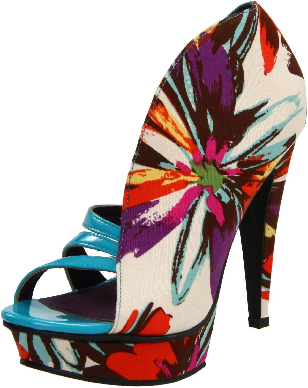 This shoe is awesome! Michael Antonio Women's Taft Platform Sandal -  endless.com