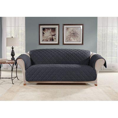 Tremendous Sure Fit Sofa Slipcover Color Storm Blue Products Unemploymentrelief Wooden Chair Designs For Living Room Unemploymentrelieforg