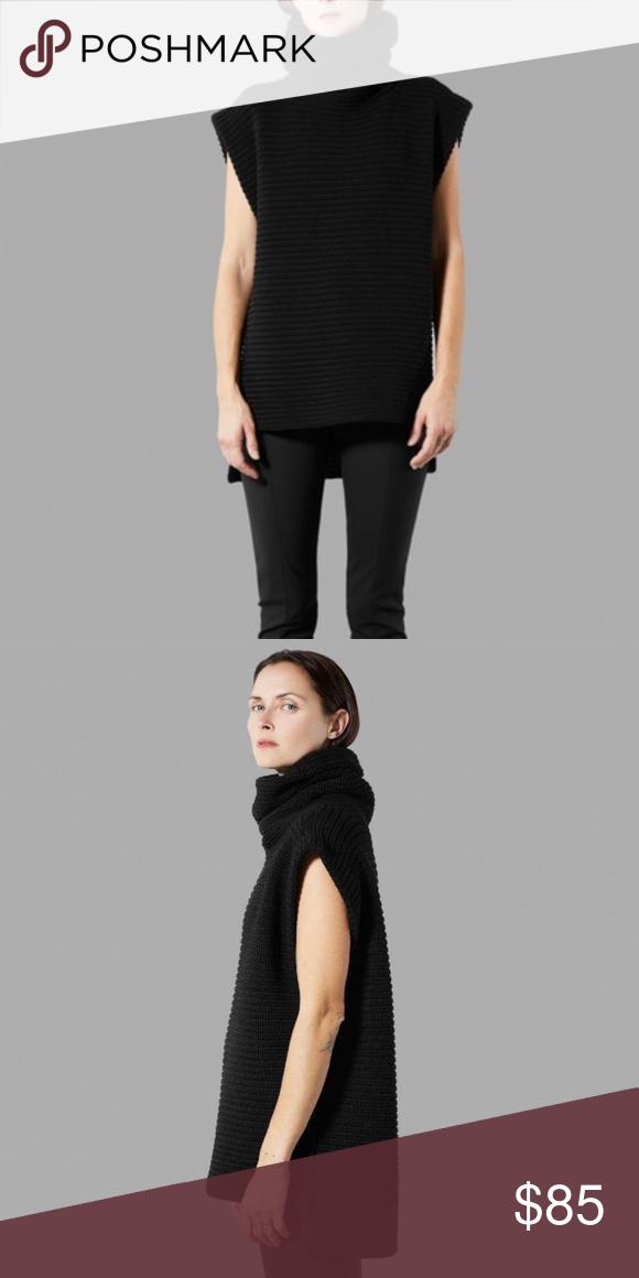62103f15bf404f Everlane Sleeveless Turtleneck Sweater Medium weight