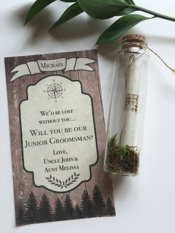 Will you be my groomsman / best man / ring by PrimroseReserve