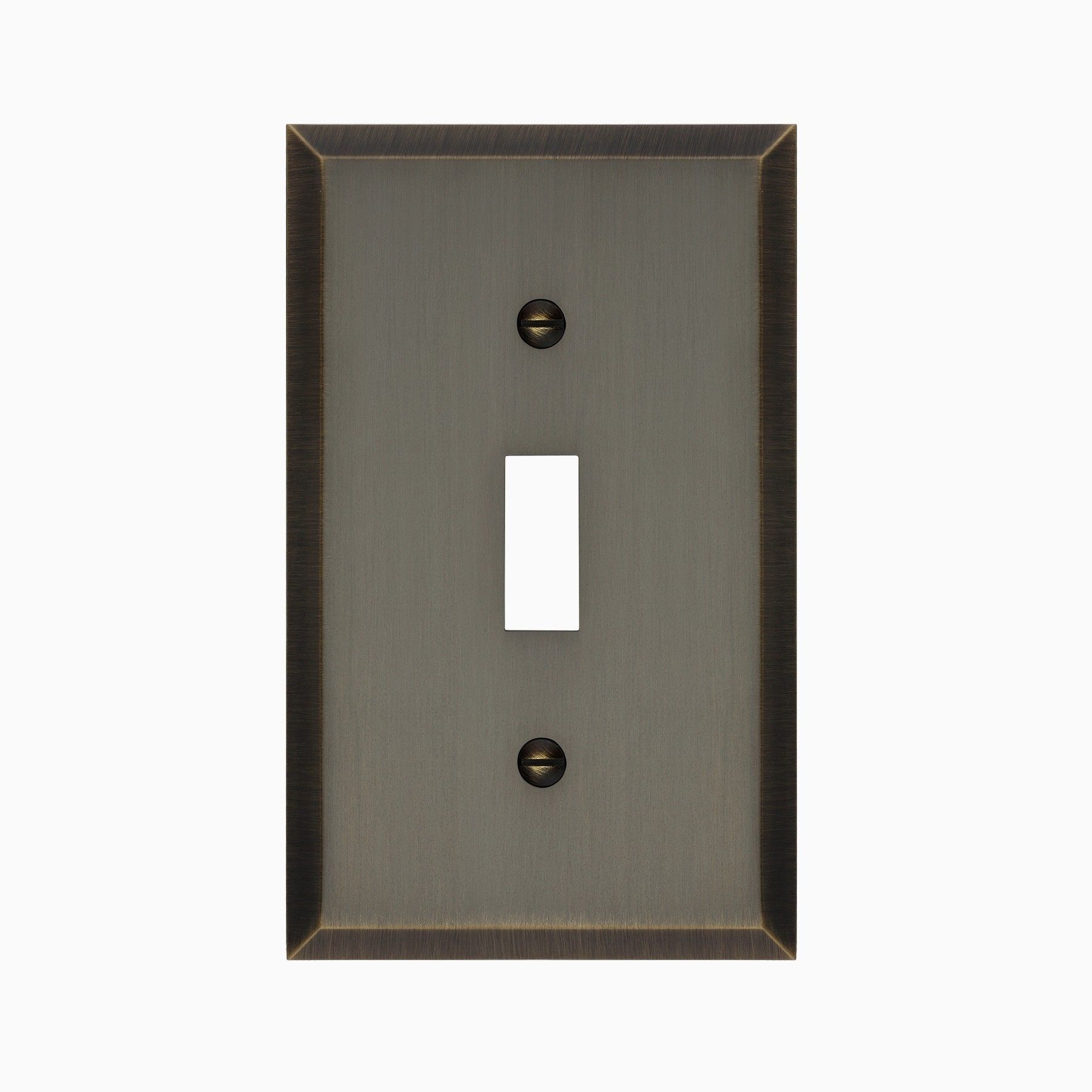 Graham Solid Brass Single Light Switch Cover Light Switch Covers Switch Covers Plates On Wall