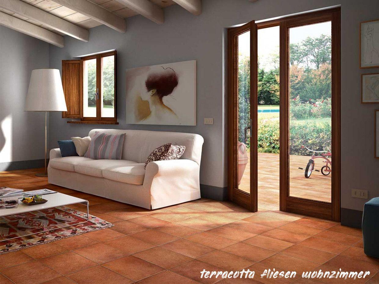 16 Terrakotta Fliesen Wohnzimmer in 16  Fliesen wohnzimmer