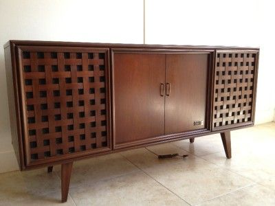 Superieur Zenith Console Stereo Turntables | Details About ZENITH STEREO CONSOLE  RECORD PLAYER TUNER CREDENZA MID .