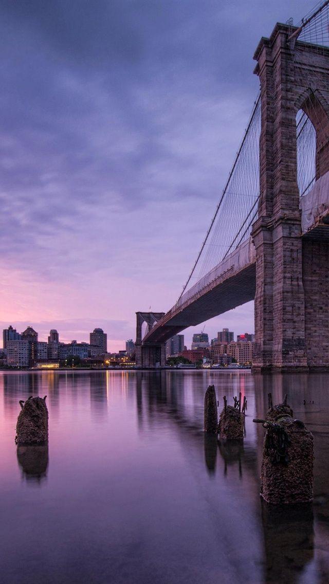Brooklyn Bridge Wallpaper 3d Usa Reise Reisen Stadt