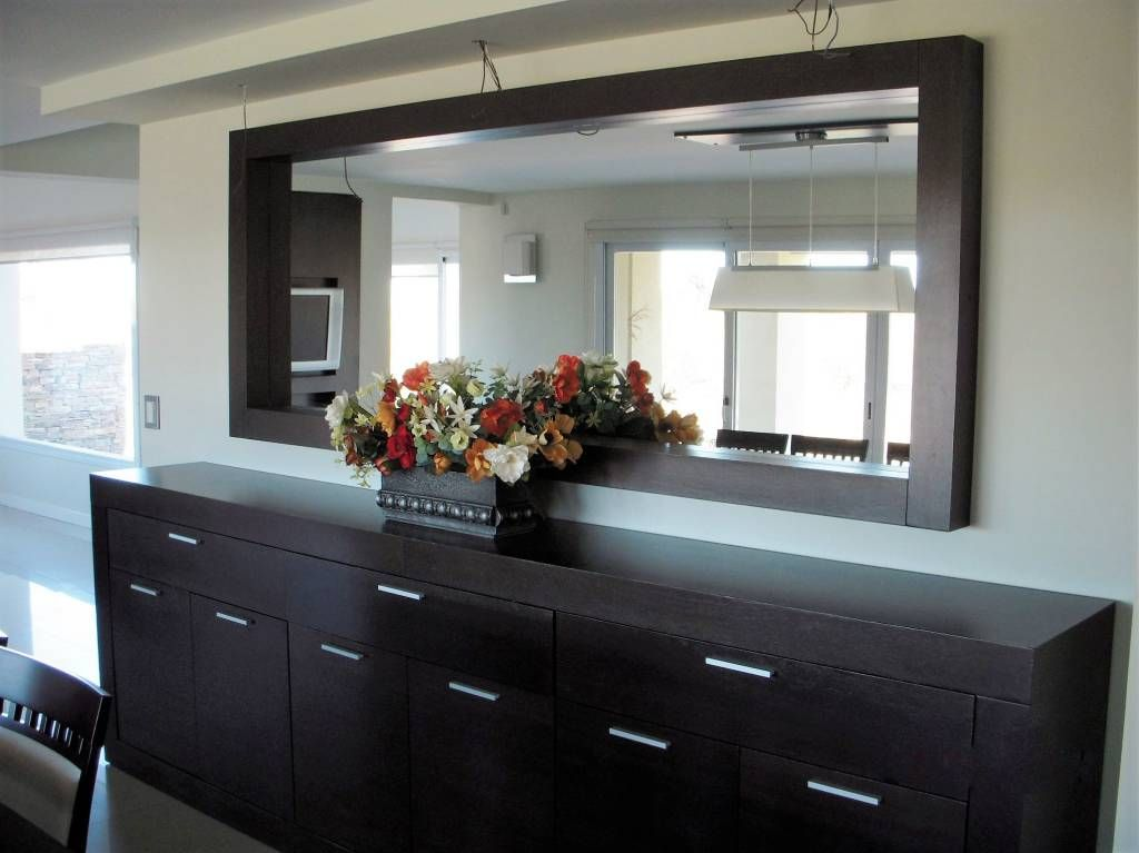 Bahiut con espejo comedores de estilo por mobilfe en - Disenos de comedores de madera ...