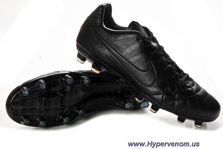 cf6ee5cb5 New Nike Tiempo Legend IV Elite FG All Black | Nike Hypervenom ...