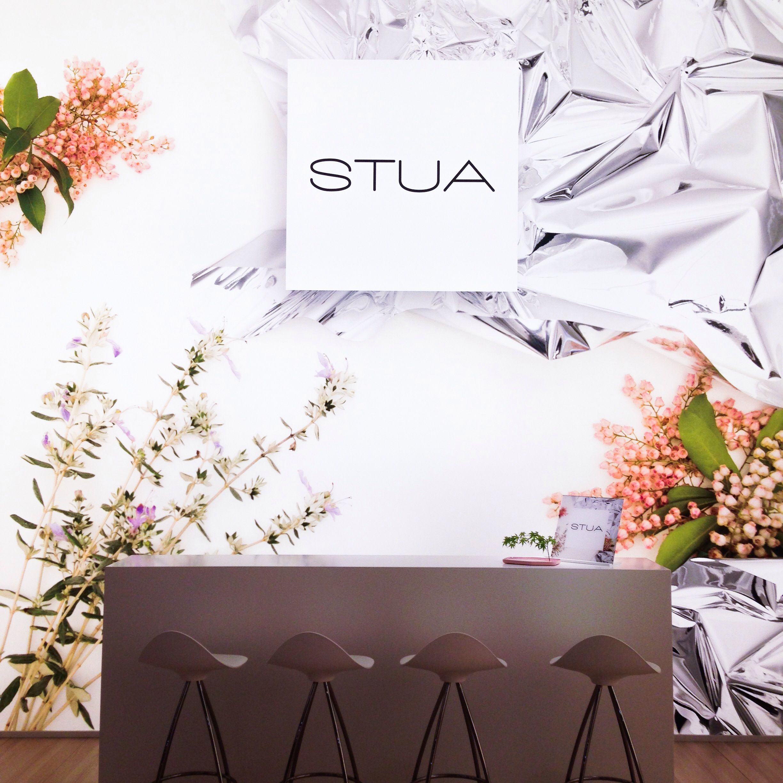 Enjoy The Stua Flower Storm In Milano Fair Hall 16 Stand C40 Spanish Furniture Tangram Reception