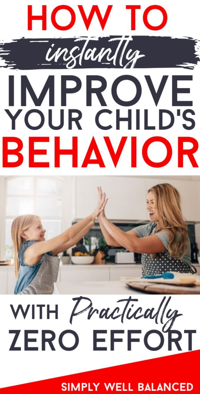 How to Instantly Improve Your Child's Behavior with No Effort #bondingwithchild