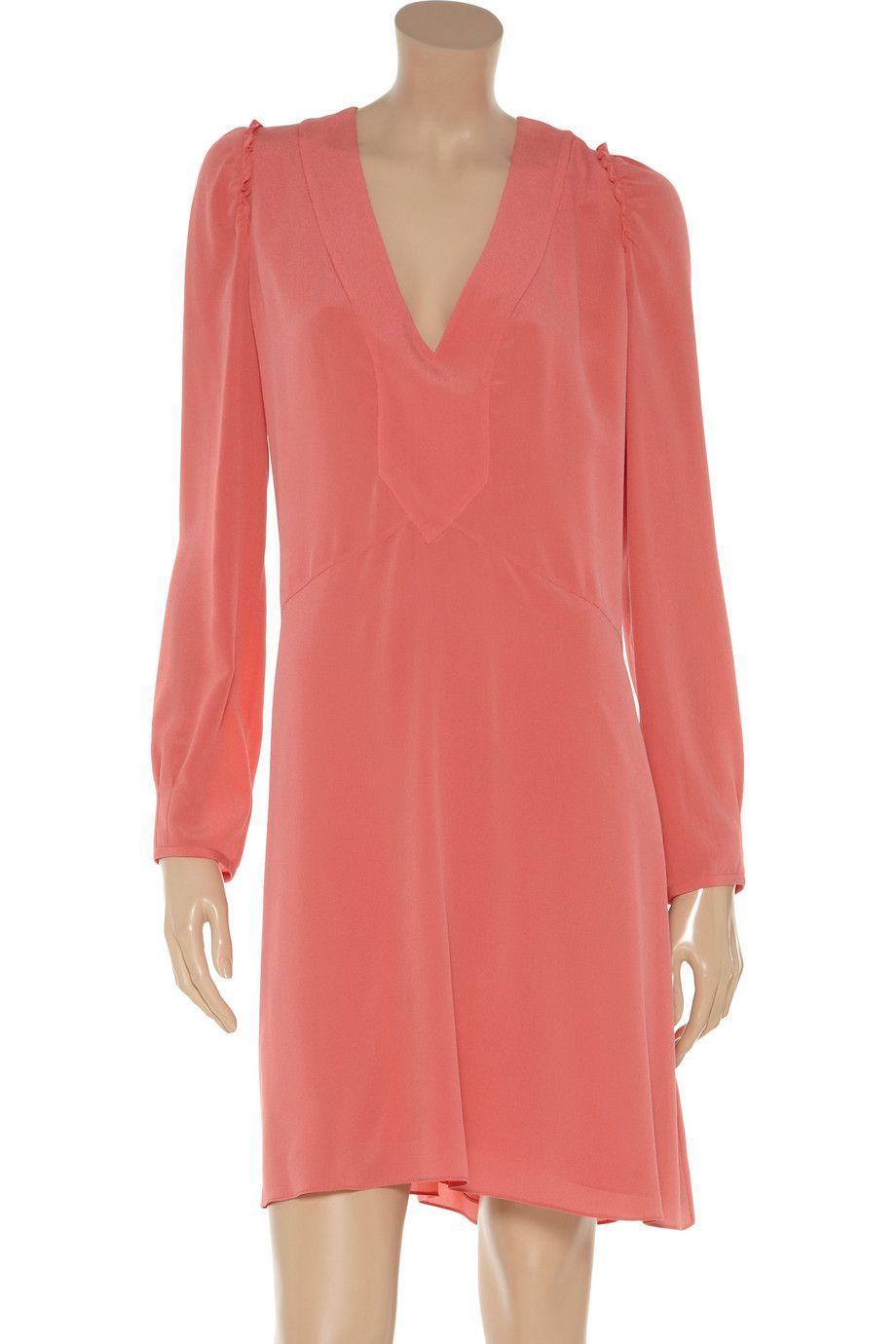 Silk crepe de chine dress by Vanessa Bruno
