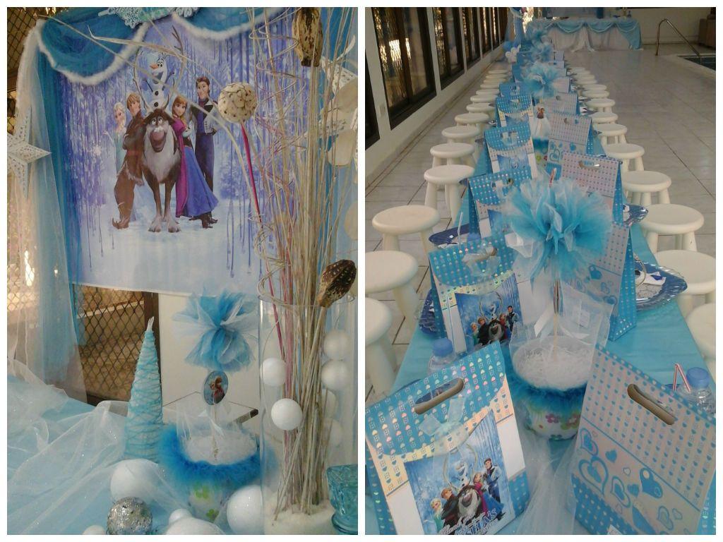 Frozen birthday party decorations ideas  Disney frozen birthday party kids party decoration party supply
