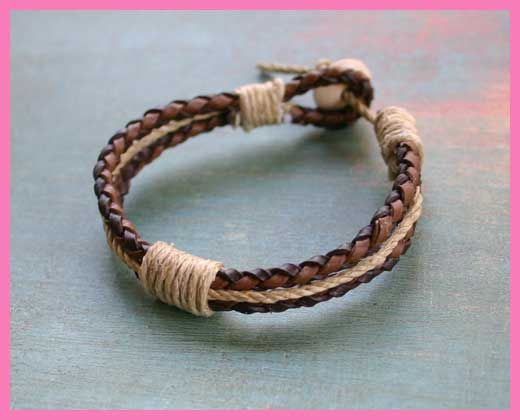 Leather Bracelets Men S Sunny Beach Jewelry