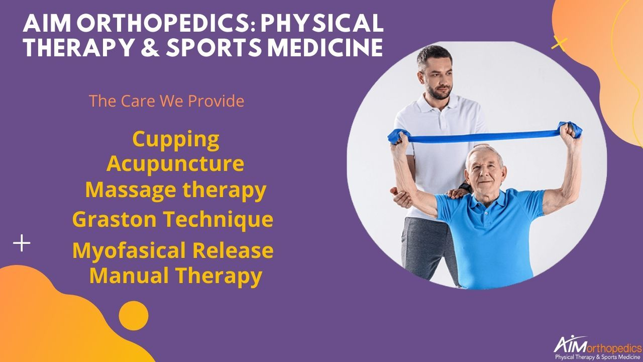 AIM Orthopedics Physical Therapy & Sports Medicine sited