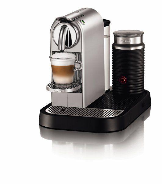 Nespresso Citiz D120-Us-Si-Ne1 Silver Chrome with Milk:Amazon:Kitchen & Dining