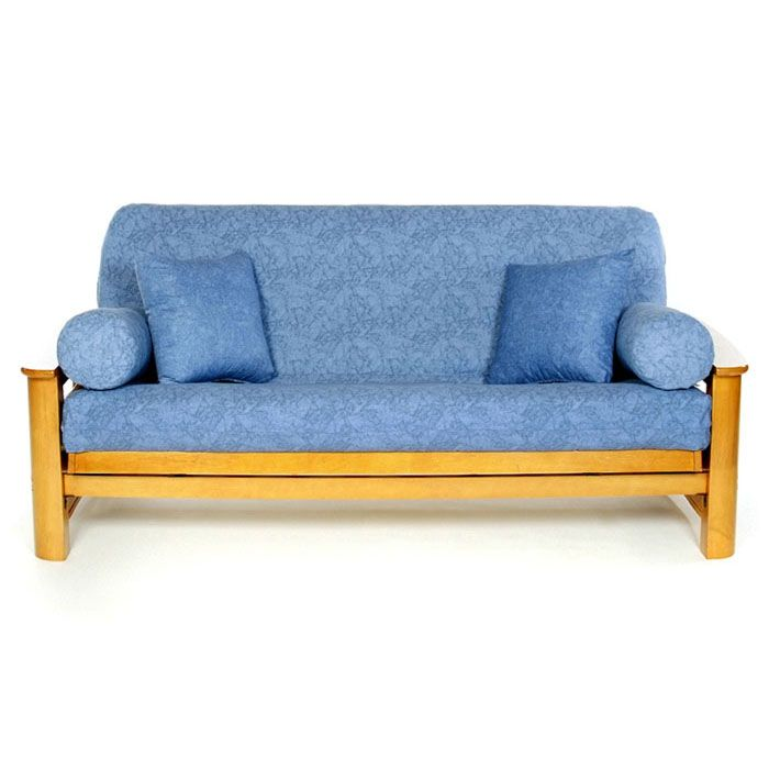 Found It At Www Futoncreations Com Washed Denim Futon Cover
