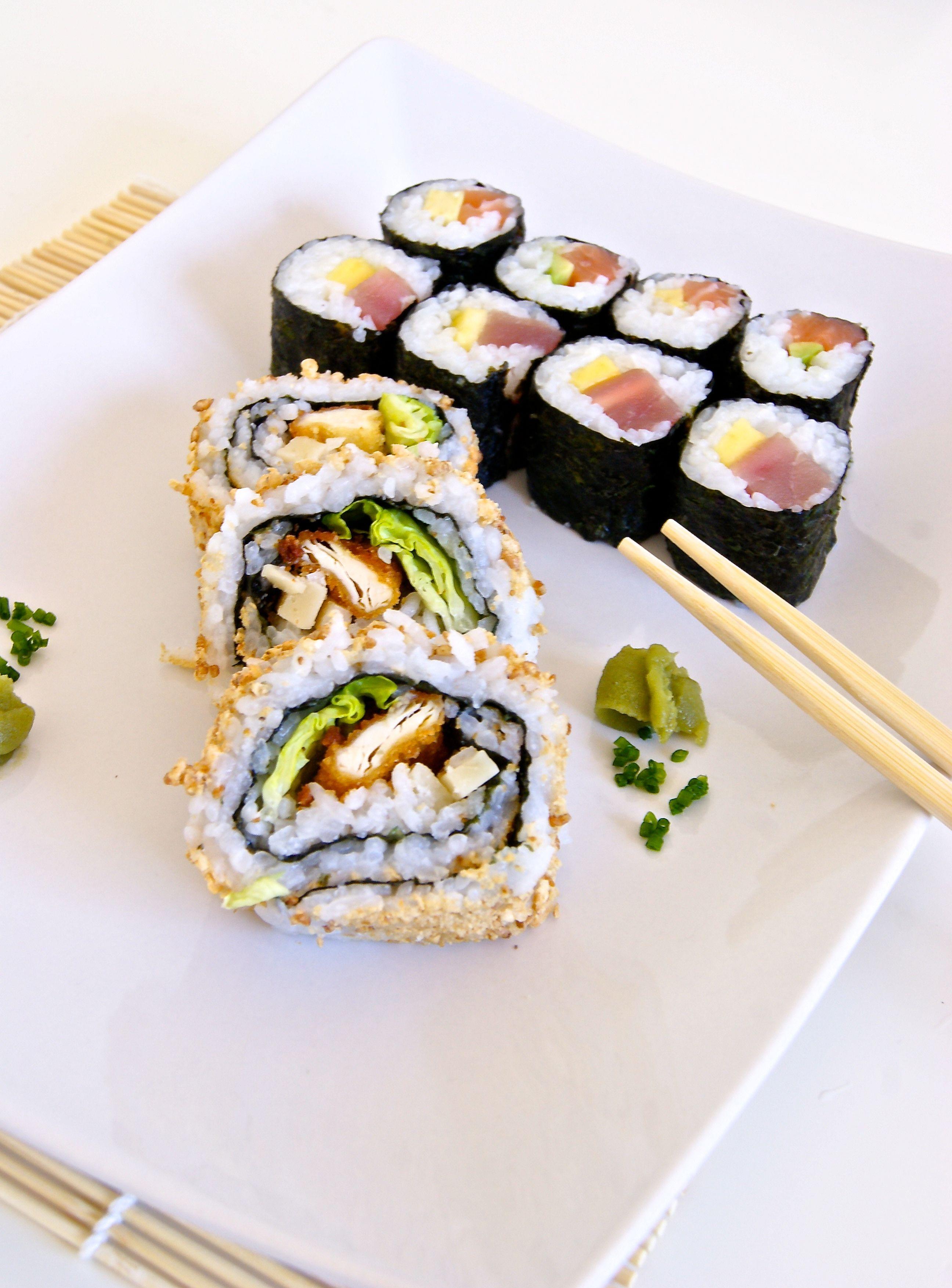 #sushi #rolls #food #japanese