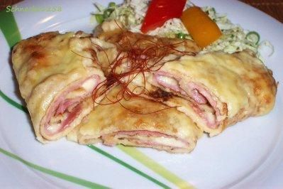 Photo of Ham and cheese pancakes – recipe with picture