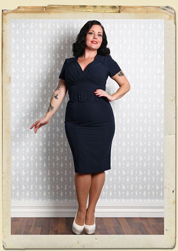 Maddie - Lee stylish fitted retro dress