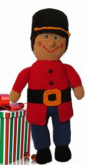 Ravelry: Toy Soldier Crochet Doll pattern by C.L. Halvorson