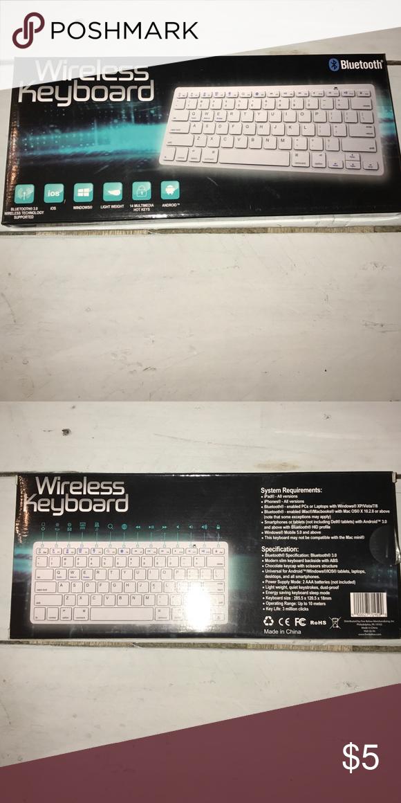 Wireless Keyboard Bluetooth3.0 IOS/windows/Android Brand