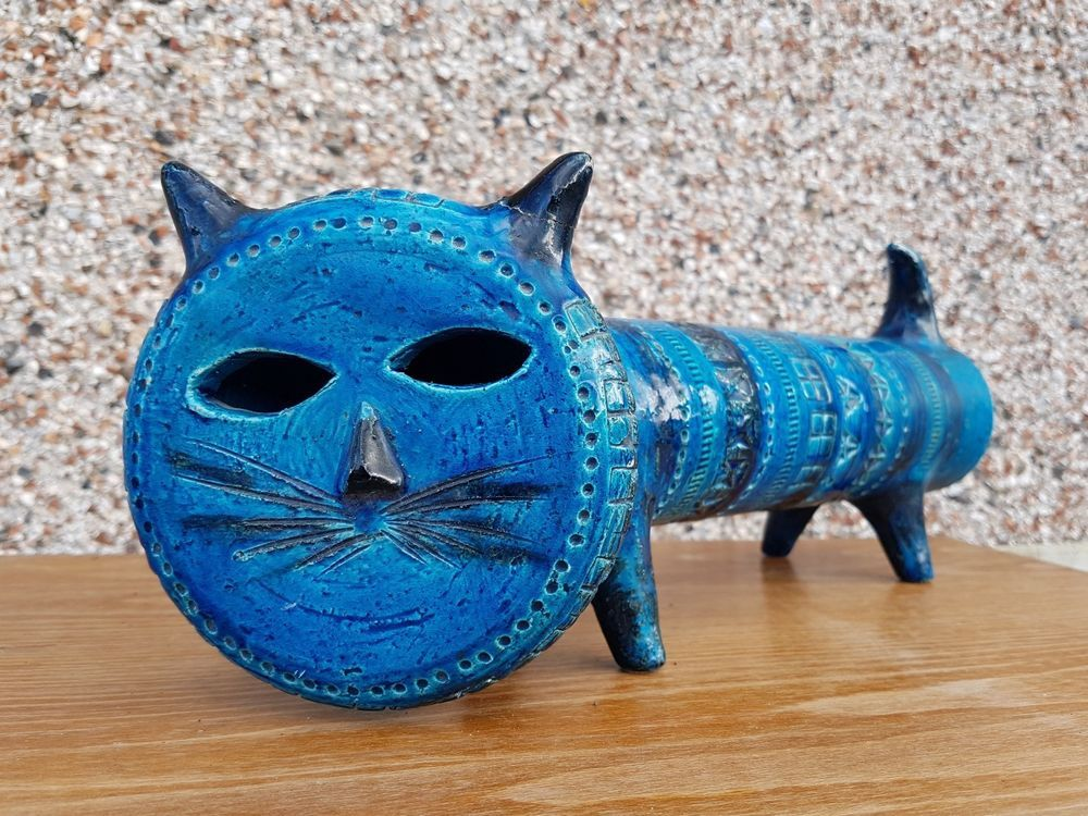 Very Rare Aldo Londi Cat Bitossi Art Pottery Ceramic Italy 60 S Mid Century Sculptureornamentchicken Pottery Art Art Sculpture