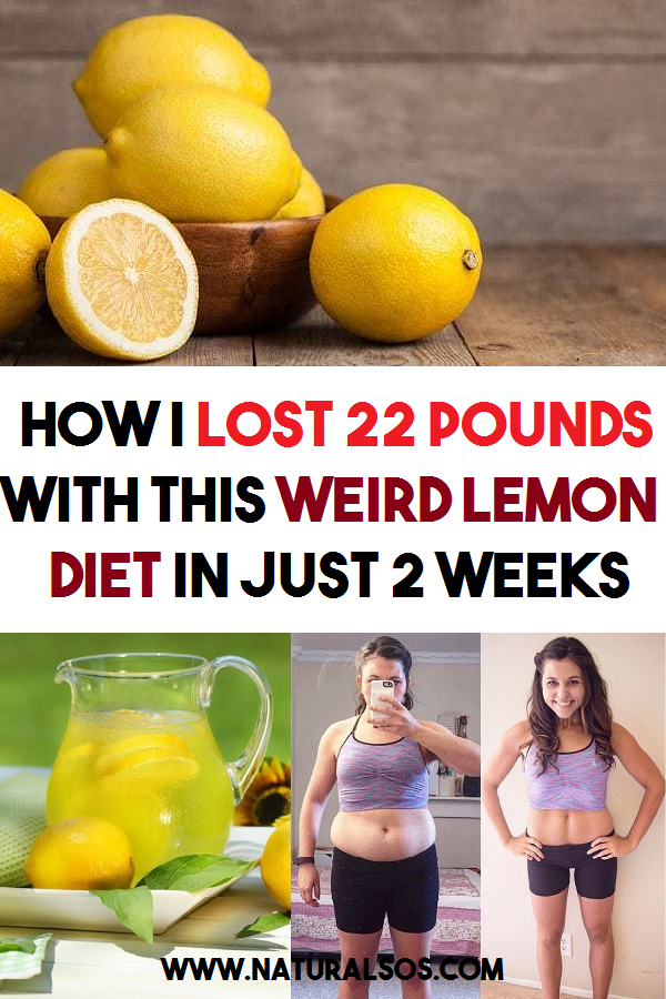 How I Lost 22 Pounds With This Weird Lemon Diet in Just 2 Weeks