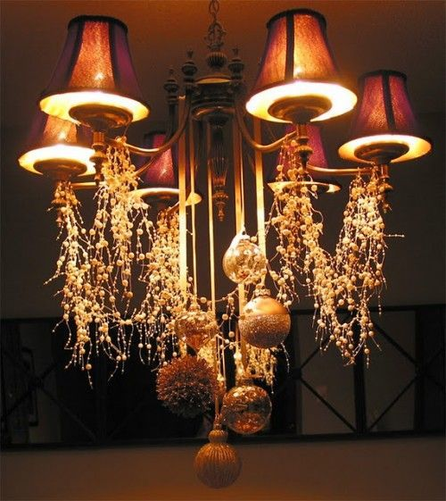 Chandelier Holiday Decorating Ideas - thesecretconsul.com