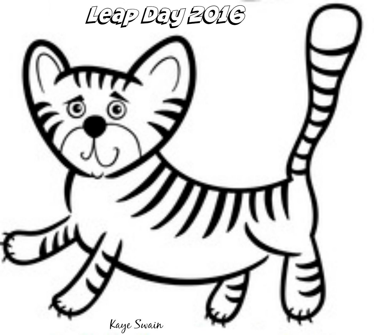 Coloring book real estate - Kaye Swain Roseville Sacramento Real Estate Agent Blogger Says Happy Leap Day Leap Year 2016 Coloring