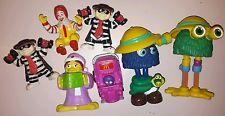 Bulk 1990s McDonalds toy doll figurine figures Fry Guys Ronald Birdie Hamburgler