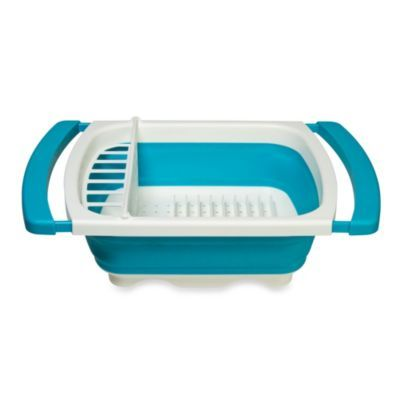 Collapsible Over The Sink Dish Drainer Bedbathandbeyond Com