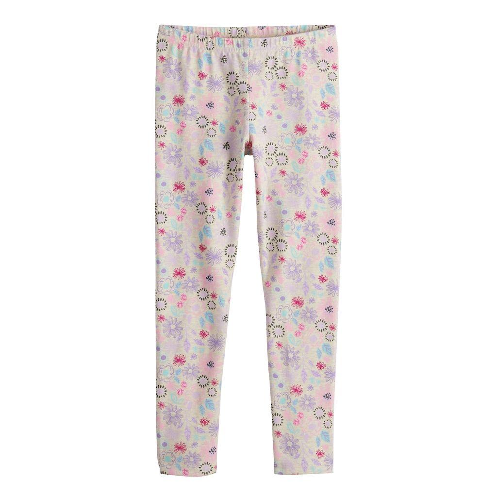 1c0d8e61bf72d Girls 4-10 Jumping Beans® Print Full-Length Leggings, Size: 6X, Lt Beige