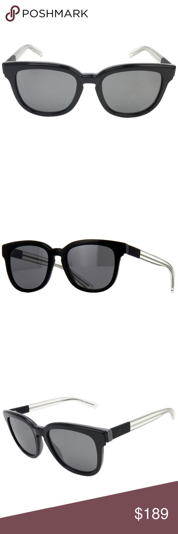7172006f7a18 Dior Sunglasses Black w Grey Lens Dior Women Sunglasses Having Black Color  Acetate Frame with