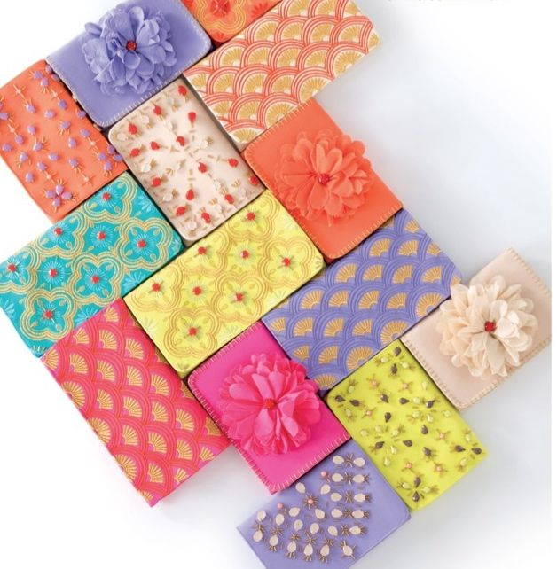 Color! Color! Color! Fabulous wallets coming this summer.