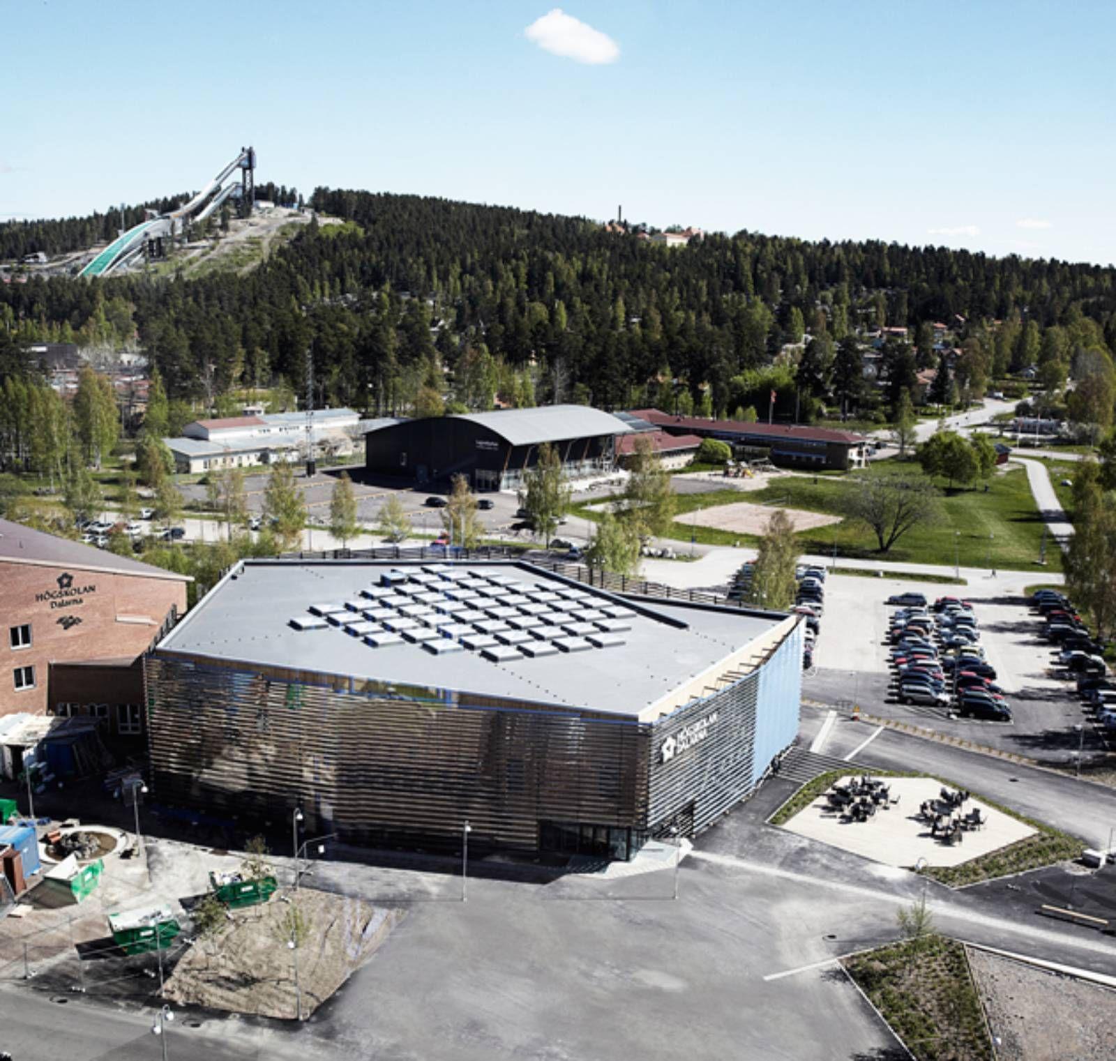 Dalarna Media Library, Falun, Sweden by ADEPT | LIBRARY