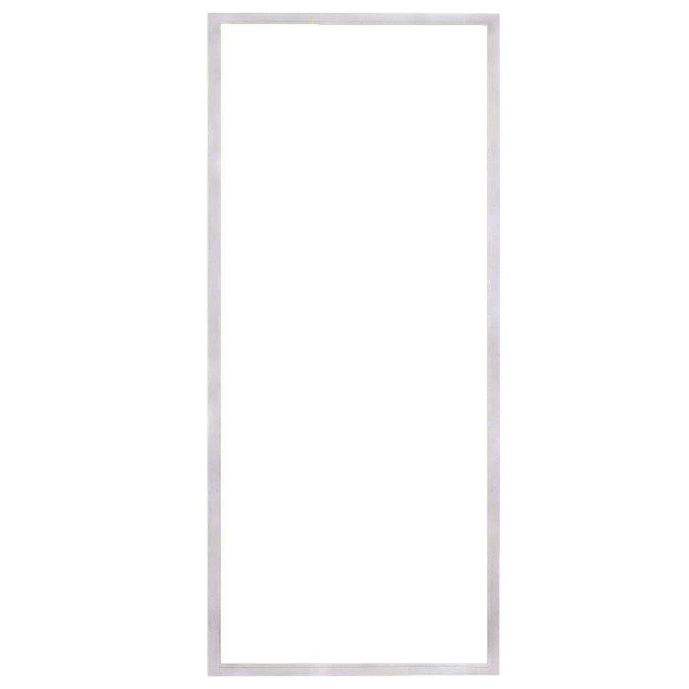 American Craftsman 36 in. x 78 in. 50 Series White Vinyl