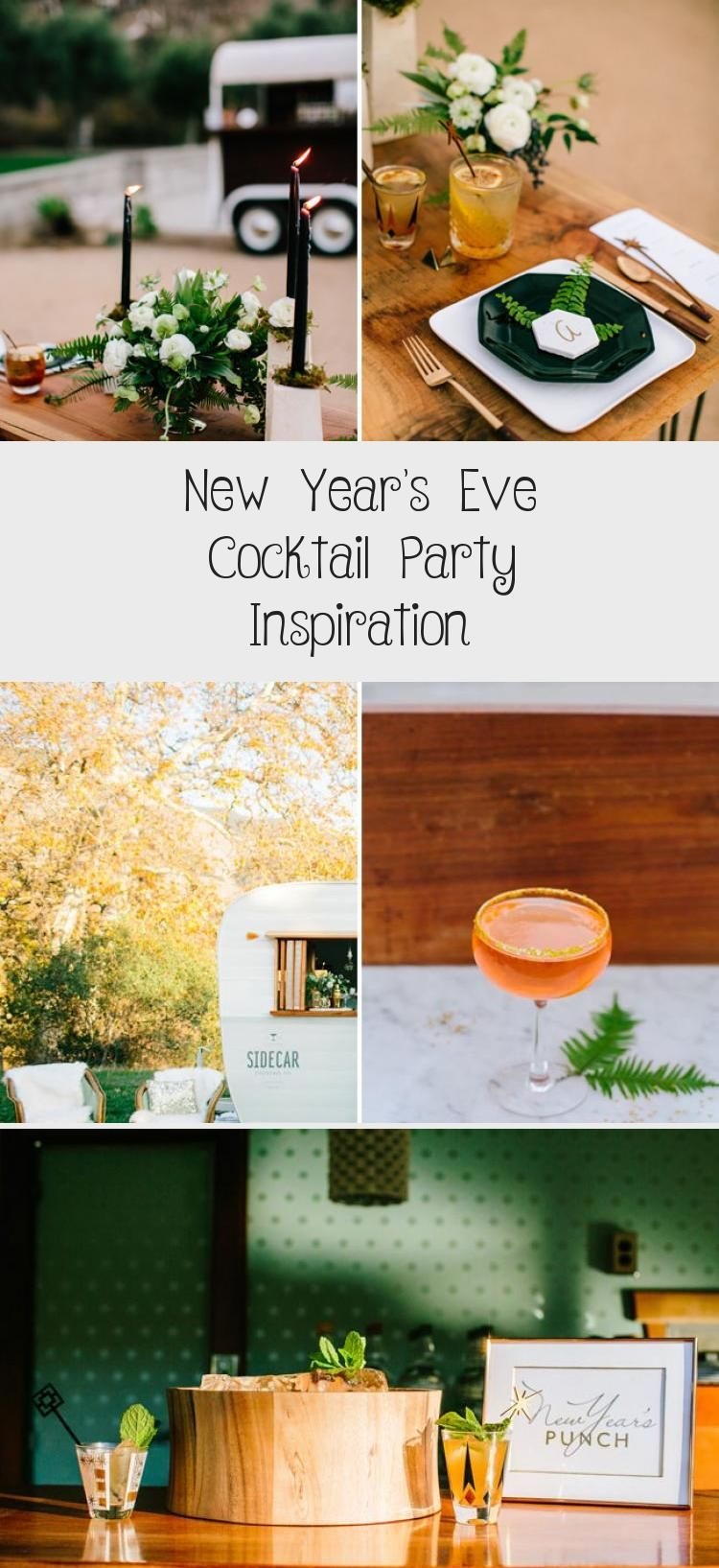 New Year's Eve Cocktail Party Inspiration Jewelrys in