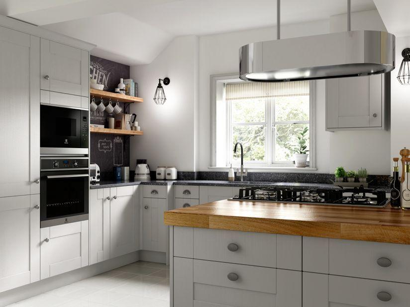 Best Milton Grey Wickes Co Uk Shaker Style Kitchens 640 x 480