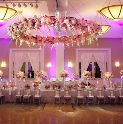 Wedding reception centerpiece idea; Via Belo Mansion
