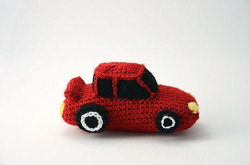 Race Car Pattern By Joyce Overheul Crochet Pinterest Amigurumi