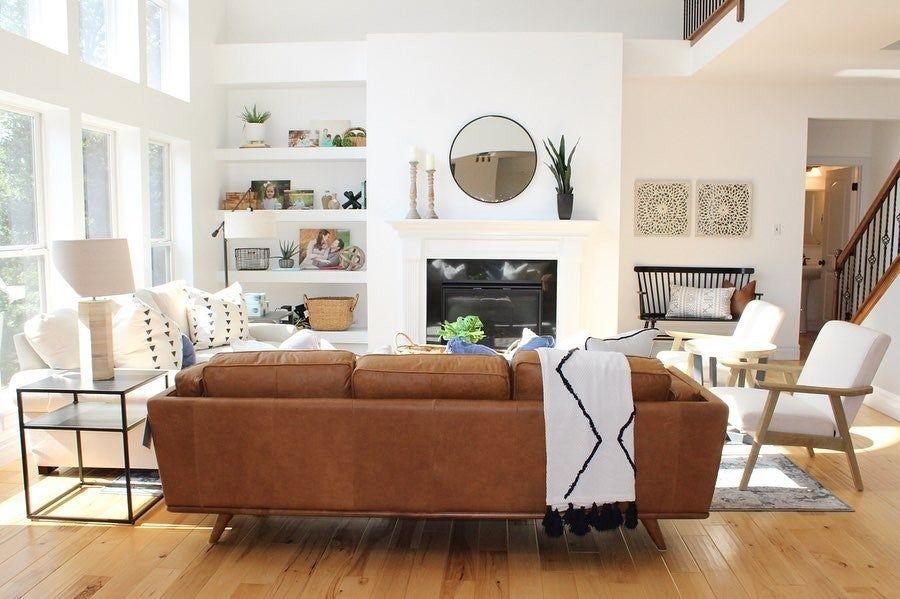 Timber Charme Tan Sofa Perfect Living Room Decor Leather Couches Living Room Living Room Leather #tan #sofa #living #room #decor