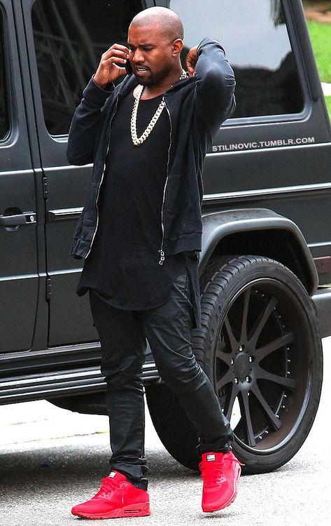 Kanye West Nike Air Max Usa Kanye West Style Nike Air Max Usa Mens Street Style