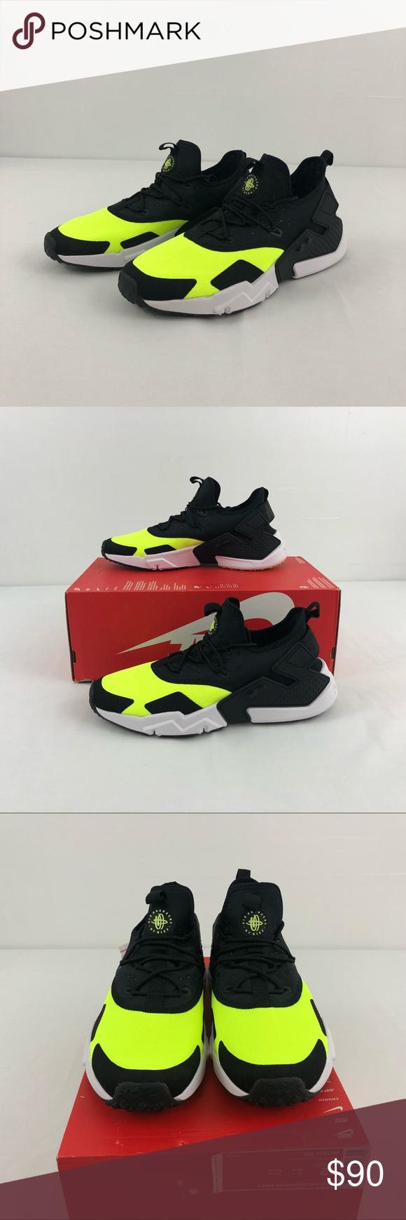 best loved 23c0e 7a3cb Nike Air Huarache Drift Nike Air Huarache Drift Men s Size 12 Style  AH7334  700 Color  Volt Black-White New in box (no lid) Please feel free to make an  ...
